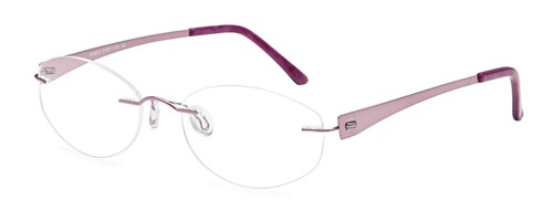 Emporium 7572 Purple Rimless Glasses