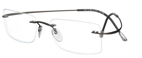 IWG Titanium Flex Gunmetal Rimless Glasses