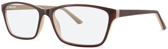 New Lenses ZP4027 C3 Brown/Taupe Glasses