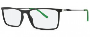 New Lenses Premium ZP4033 C1 Black/Green Glasses