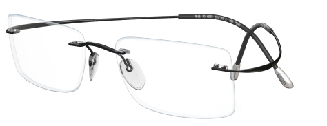 0d0ab531e8b IWG Titanium Flex Black Rimless Glasses