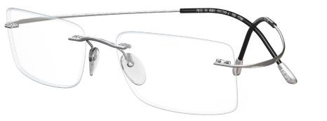 89db80ea5eb IWG Titanium Flex Silver Rimless Glasses