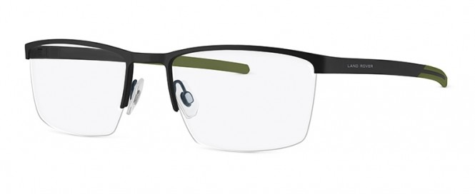Land Rover Miller Black Glasses
