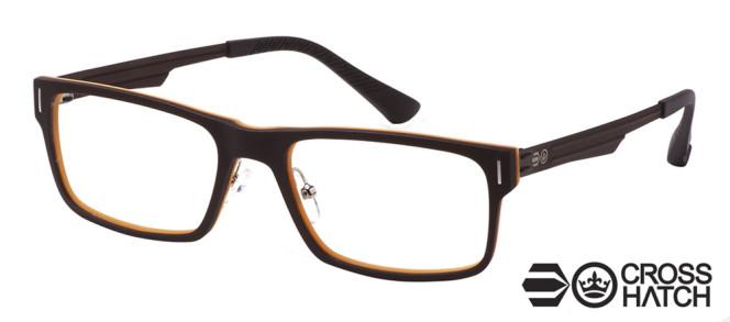 Crosshatch CRH-114 C1 Brown Glasses