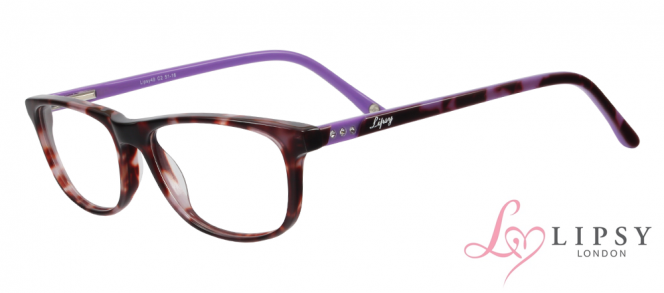 Lipsy 49 5116 Purple Mottle C2 Glasses