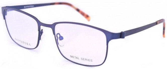 Battatura BM006 - Gabriele - Matt Dark Blue Glasses
