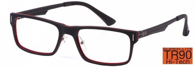Crosshatch CRH-114 C3 Red Glasses