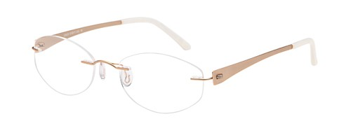 Emporium 7572 Gold Rimless Glasses