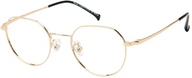 NewLenses Premium LC124 C2 Gold Glasses