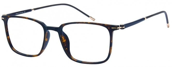 NewLenses Premium LC91 C2 Tortoiseshell Glasses