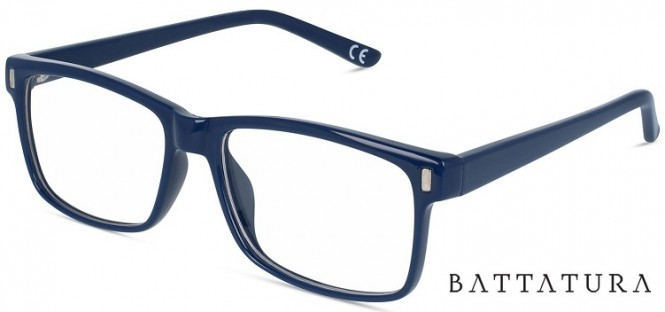 Battatura CP14 Calvin - Shiny Dark Blue Glasses