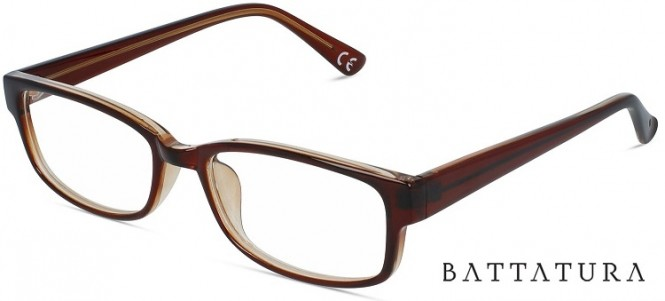 Battatura CP17 Drifter - Crystal Shiny Brown Glasses.