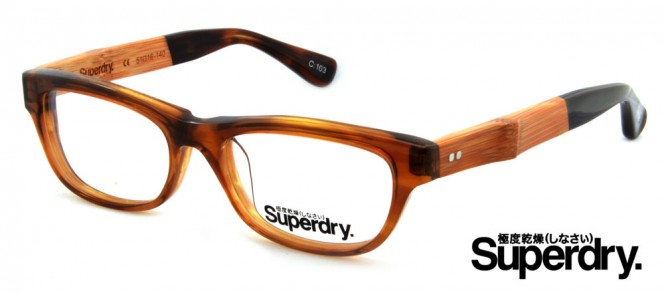 Superdry Hope Brown Prescription Glasses