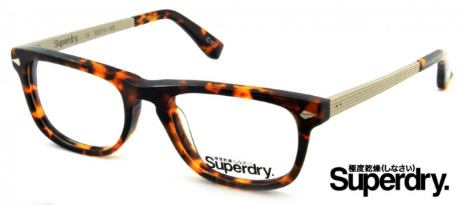 Superdry Riley Tortoise Prescription Glasses