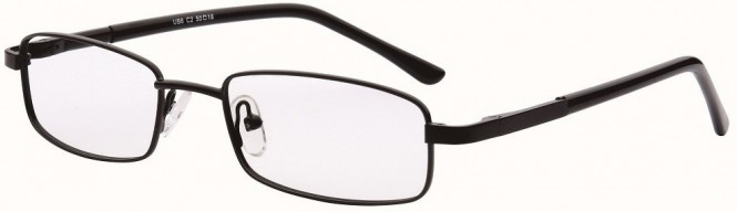 NewLenses Univo Base 6 C2 Black Glasses