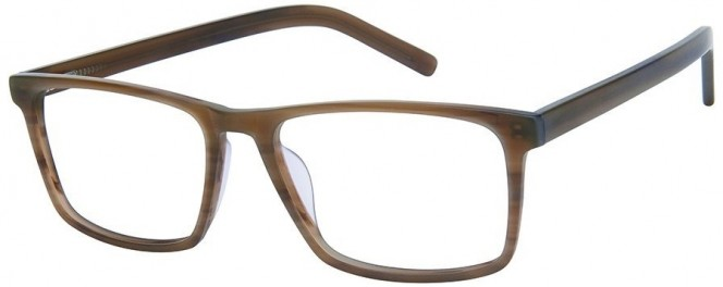 NewLenses Univo Plus 935 C2 Brown Glasses