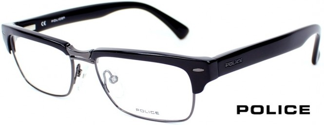 Police V1698 0700 Black Glasses