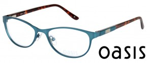 Oasis Bellflower C2 Blue Tortoise Glasses