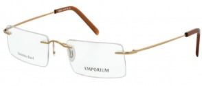 Emporium Attractive Gold Glasses