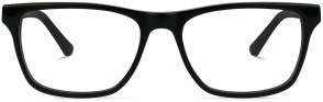 Battatura B156 - Mario - Italian Jet-Black Glasses