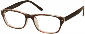 NewLenses Univo Base 102 C2 Shiny Brown Glasses