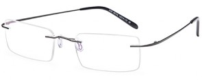 Emporium 7586 Rimless Glasses