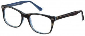 Jack & Francis FR46 - Mogul - Tortoise and Blue de France Glasses