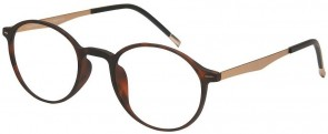 NewLenses Premium London Club 42 C1 Tortoiseshell Glasses