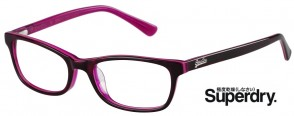 Superdry Ashleigh 102 Dark Havana and Opal Hot Pink Glasses