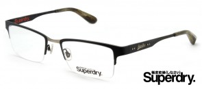 Superdry Renegade Black Prescription Glasses