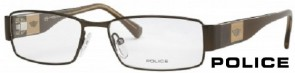 Police V8610 0K03 Metallic Brown Glasses